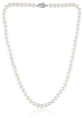 """Honora Classic Pearl Jewelry"""" Freshwater Cultured Pearl 6mm Necklace"""