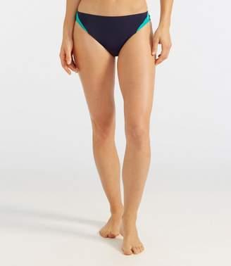 L.L.Bean Active Swim Collection, Low-Rise Brief Colorblock