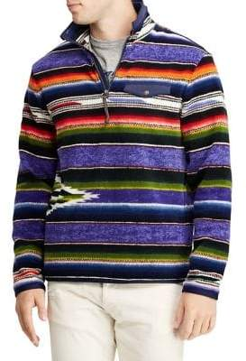 Polo Ralph Lauren Striped Fleece Pullover