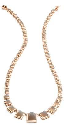 Eddie Borgo Graduated Gemstone Necklace