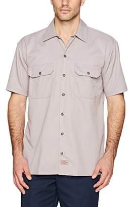 Dickies Men's Work Regular Fit Short Sleeve Casual Shirt
