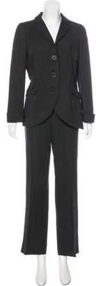 Akris Wool High-Rise Pantsuit