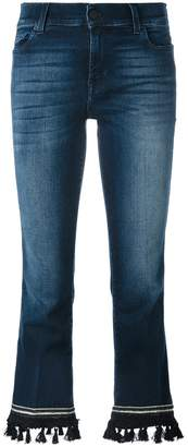 7 For All Mankind bootcut cropped jeans