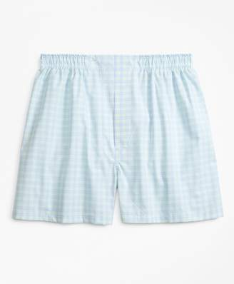 Brooks Brothers Traditional Fit Check Boxers