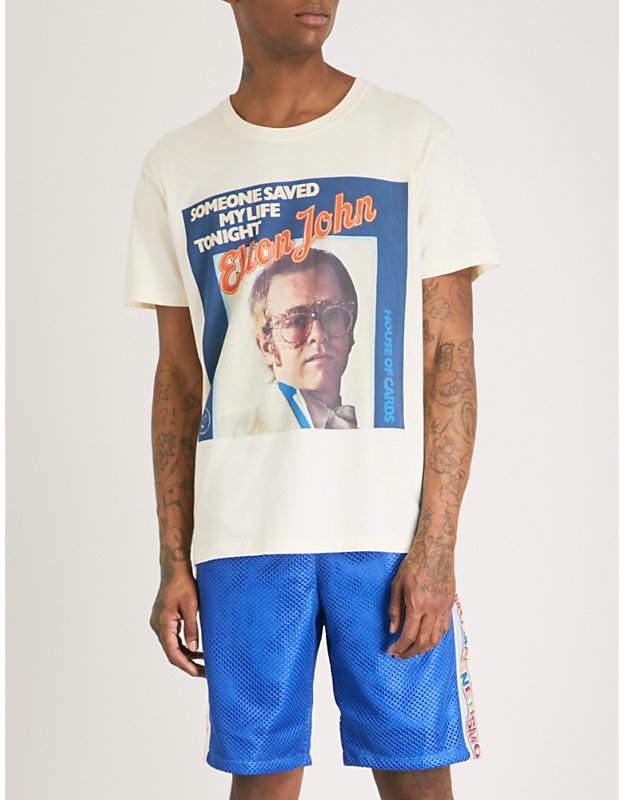 Elton John cotton T-shirt