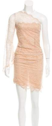 Emilio Pucci Guipure Lace One-Shoulder Dress w/ Tags