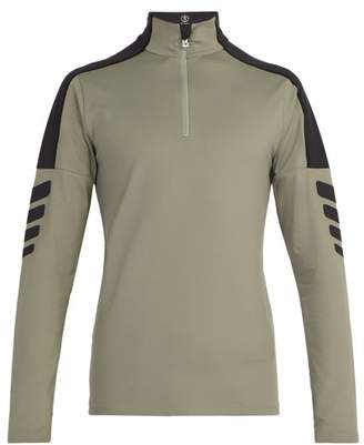 Bogner Elias Half Zip Baselayer Top - Mens - Khaki Multi