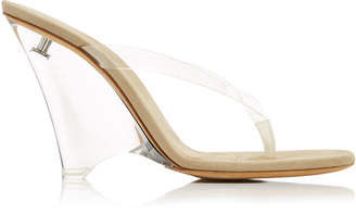 Yeezy PVC Wedge Sandals