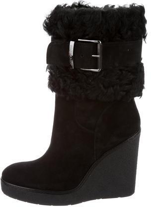 MonclerMoncler Marguerite Wedge Boots