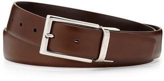 Ermenegildo Zegna Matte Reversible Belt, Brown/Cognac $295 thestylecure.com