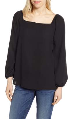 Gibson x International Women's Day Chelsea Square Neck Blouse