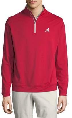 Peter Millar Men's University of Alabama Perth Sweater, Crimson