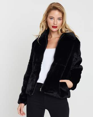All About Eve Adriana Faux Fur Jacket