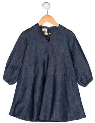 Dagmar Daley Girls' Denim A-Line Dress