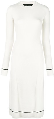Proenza Schouler Matte Knit Sleeveless Dress