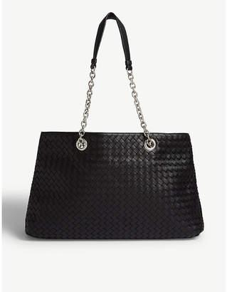 Bottega Veneta Woven leather tote bag