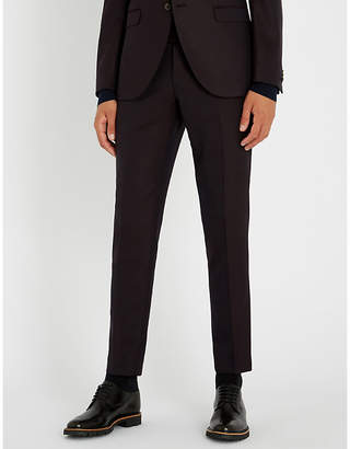 Tiger of Sweden Tordon tailored-fit tapered stretch-wool trousers