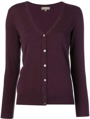 N.Peal v neck knitted cardigan