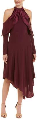 Parker Tanya Silk Midi Dress