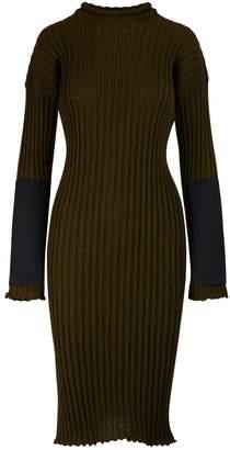 Bottega Veneta Long sleeved midi-dress