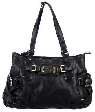 MICHAEL Michael Kors Buckle-Accented Leather Bag