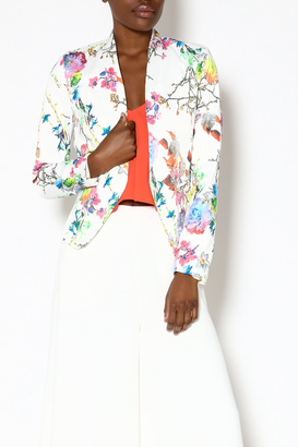 OVI Light Floral Blazer $36.99 thestylecure.com