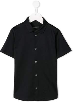 Emporio Armani Kids short sleeve shirt