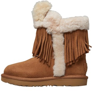 4d3088bf7 UGG Toddler Girls Darlala Classic II Boots Chestnut