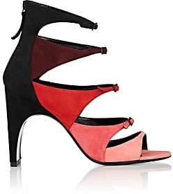 Pierre Hardy Women's Lula Suede Sandals - Pink