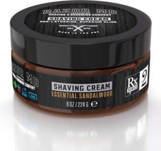 Razor Md® Sandalwood Shave Cream 8oz (2 Pack)