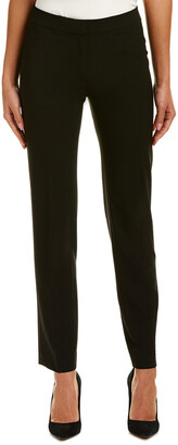 Lafayette 148 New York Slim Wool-Blend Pant
