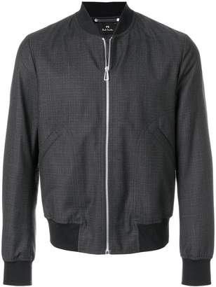 Paul Smith zipped bomber jacket
