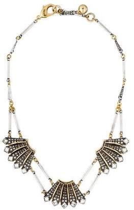 Lulu Frost Brigitte Triple Necklace $125 thestylecure.com