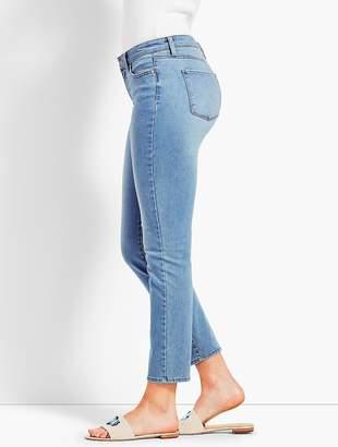 Talbots Denim Slim Ankle Jean - Curvy Fit/Beach Glass