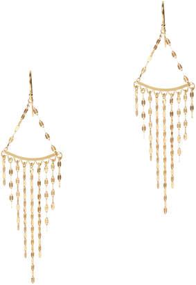 Argentovivo Pailette Chandelier Earrings