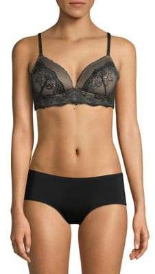 Maidenform Lace-Trimmed Bralette