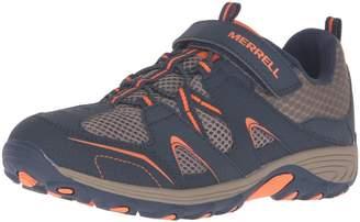 Merrell Boy's Ml-Boys Trail Chaser Shoes, Grey/Blue/ Citron
