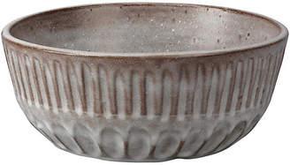"Jamie Young 10"" Cradle Decorative Bowl - Ash Gray"