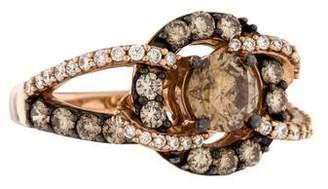 Le Vian 14K Diamond Swirl Ring $3,295 thestylecure.com
