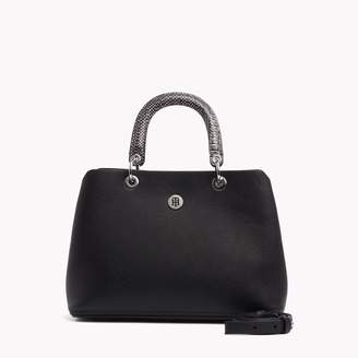 Tommy Hilfiger Pebbled Satchel