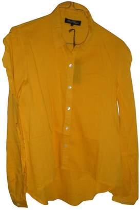 Sarah Wayne Yellow Cotton Top for Women