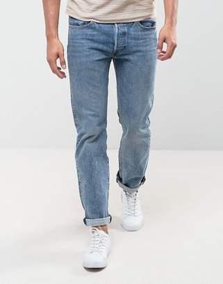 Levi's Levis 501 Original Straight Fit Jeans Crosby Wash