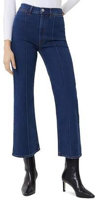 3x1 Nicolette High-Rise Kick Flare Jeans in Clio