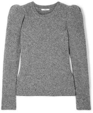 Co Cashmere-blend Bouclé Sweater - Gray