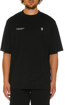 Marcelo Burlon County of Milan Men's Punch Graphic Short-Sleeve T-Shirt