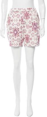 Baja East Geometric Print Knee-Length Shorts w/ Tags