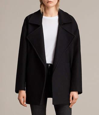 AllSaints Jaida Coat $530 thestylecure.com