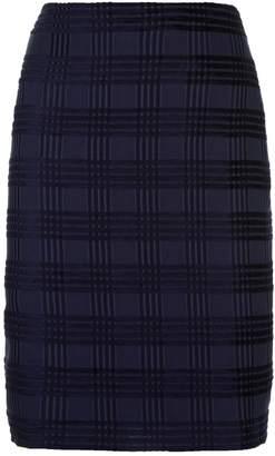 Akris Square Jacquard Skirt