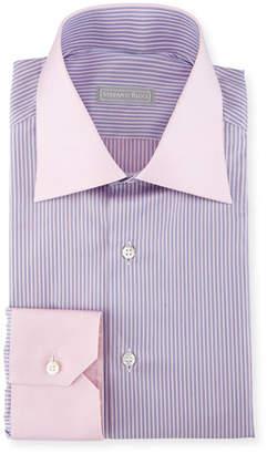 Stefano Ricci Striped Cotton Dress Shirt