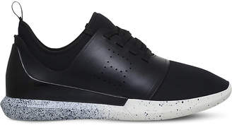 Bally Avro neoprene and leather trainers